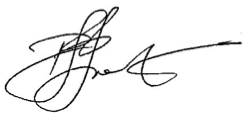 Signature of Dr Peter Frost (Acting Auditor-General)