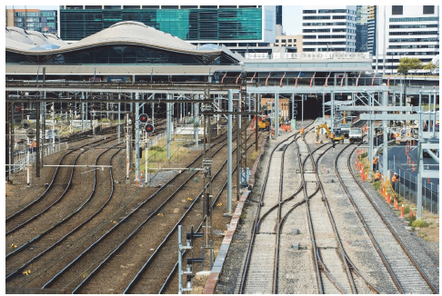 Two new platforms constructed at Southern Cross Station