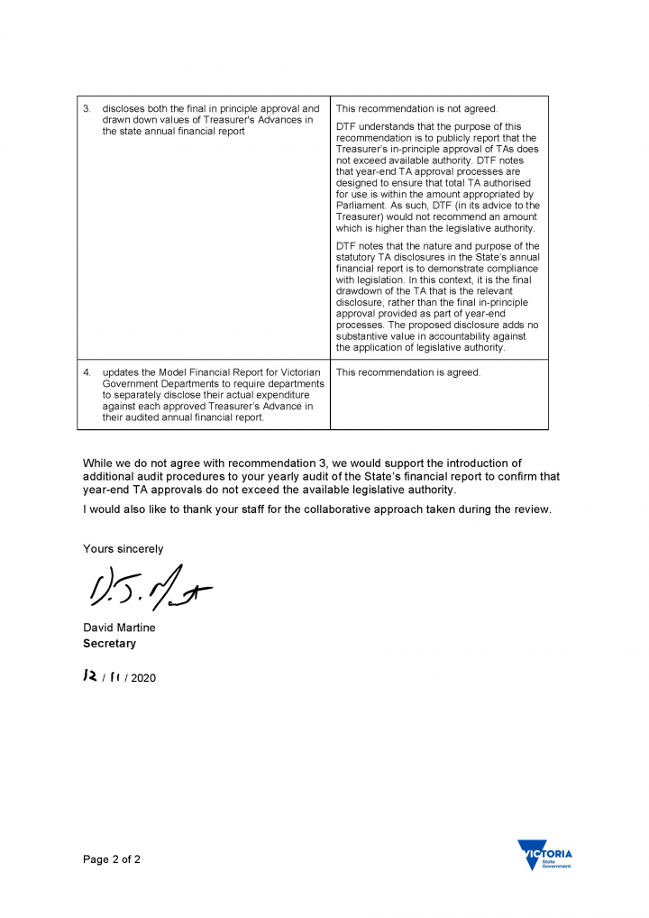 DTF's response letter page 2