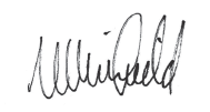 Narelle Whinfield's Signature