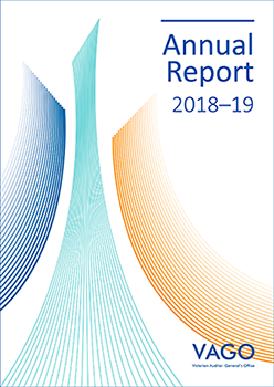 Cover of the Annual Report 2018-19