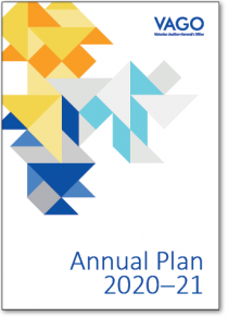 Cover of our Annual Plan 2020–21