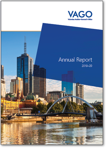 Cover of our Annual Report 2019-20