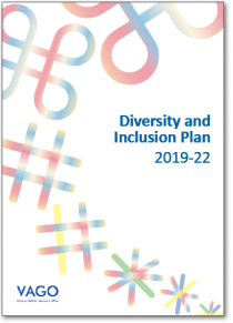 Cover of our Diversity and Inclusion Plan 2019–22