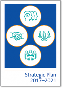 Cover of our Strategic Plan 2017–2021
