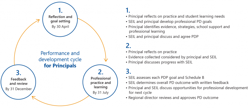 FIGURE 1G: Key stages and roles involved in PD cycle