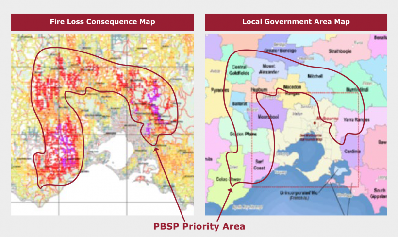 FIGURE 5B: The PBSP priority area