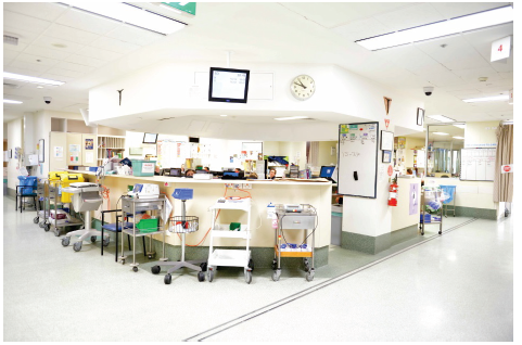 Inside a hospital. Photo courtesy of St Vincent's Hospital Melbourne