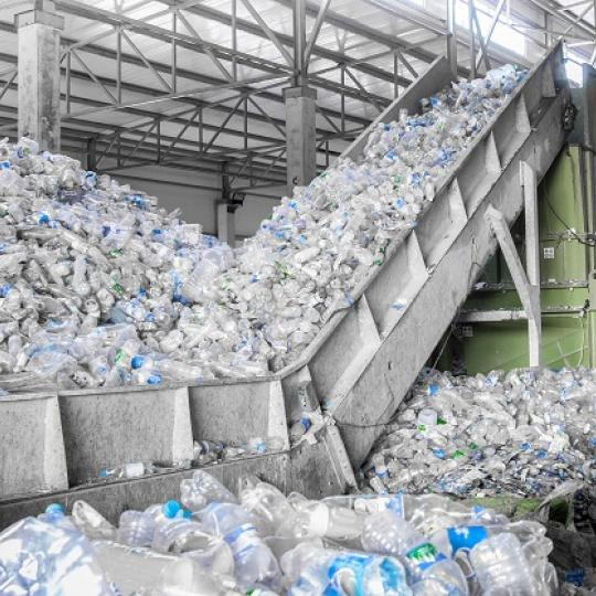 Recycling plant. Photo courtesy of Albert Karimov/shutterstock.com