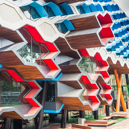 The La Trobe Institute for Molecular Biology building. Photo courtesy of Nils Versemann/shutterstock.com