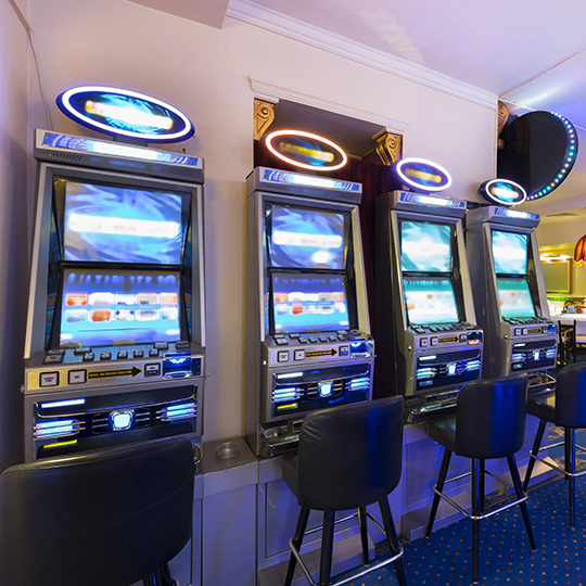 Gaming machines. Photo courtesy of Eviled/Shutterstock.com